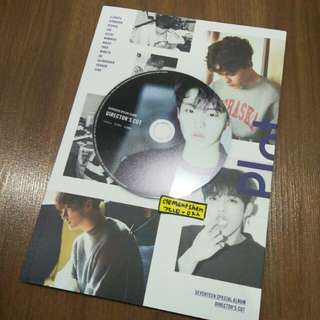 Seventeen Director's Cut Special Album Hoshi CD Plate