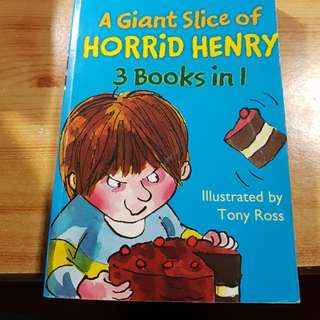 A Giant Slice of Horrid Henry