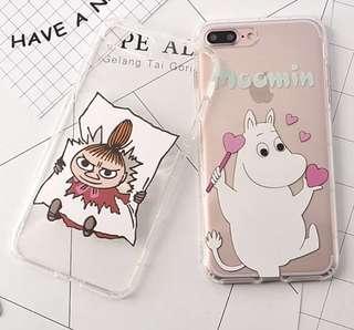 手機殼IPhone6/7/8/plus : Moomin姆明阿美