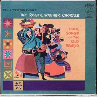 Roger wagner, Vinyl LP, used, 12-inch original pressing