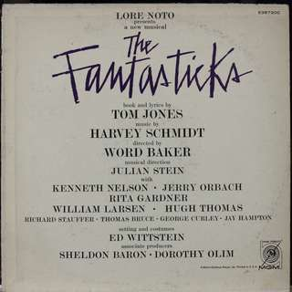 Fantasticks, Vinyl LP, used, 12-inch original pressing