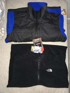 The North Face Denali Jacket & 1/4 Fleece Jacket sz M