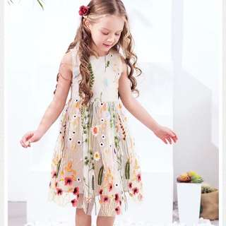 Chic girl Floral Dress 100-150cm