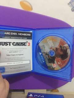 Kaset ps 4 just cause 3