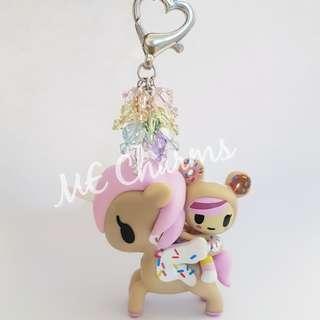 Tokidoki Unicorno Series 5 Soulmates Swarovski Crystals Bag Charms / Fobs