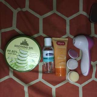 Bundle 2: skin care