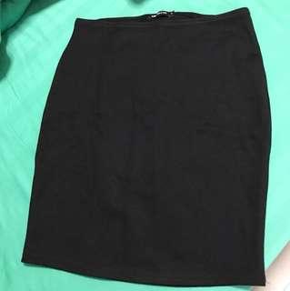 Valleygirl Black Bandage Skirt