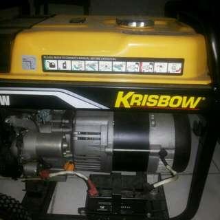 Genset krisbow 3800watt