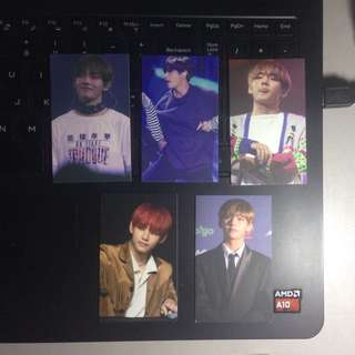 Taehyung Fansite photocards (Because of V)