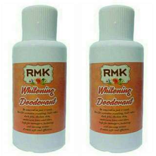 NEW RMK whitening deodorant 60ml