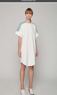 Collate The Label Colourblock Tee Dress