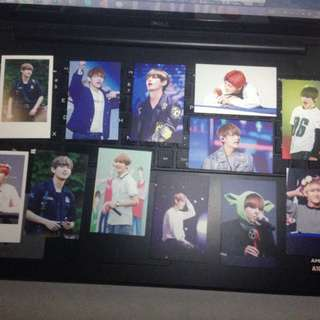 Winterstrawverry Taehyung Fansite photocards