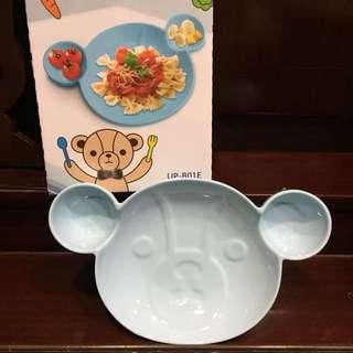 🚚 英國熊陶瓷可愛造型盤