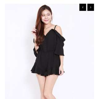 BNIP Carrislabelle Drop Shoulder Offsie Romper