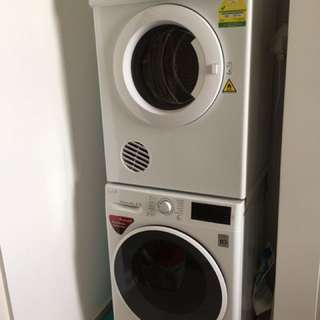 Electrolux Dryer& LG washer