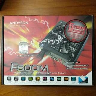 Andyson F500M 500W PSU