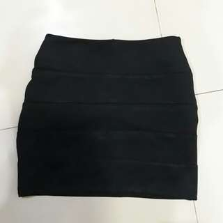 Rok mini sepan hitam