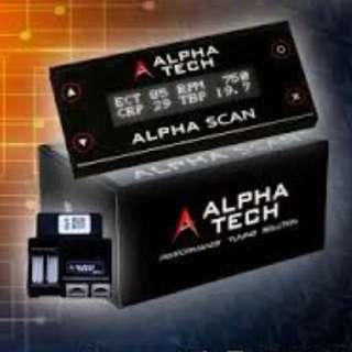 Alpha scan
