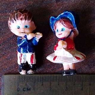 Boy & Girl Figurines for Decor