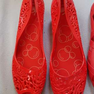 Jelly Bunny Semi Wedge Jelly Shoes Size9