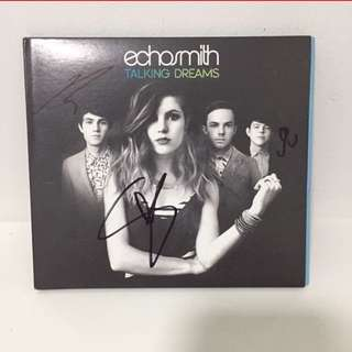 Signed ECHOSMITH Talking Dream Album