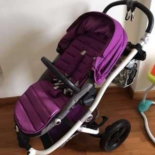 Britax affinity stroller purple