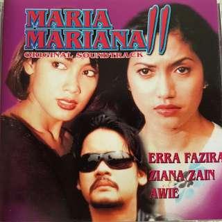 Maria Mariana original soundtrack Malay album Awie Slam Zaina Zain  Ning