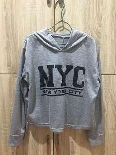 Nyc crop sweater