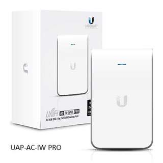 UAP-AC-IW-PRO Ubiquiti In-Wall Access Point 2.4GHz & 5GHz Pro Version