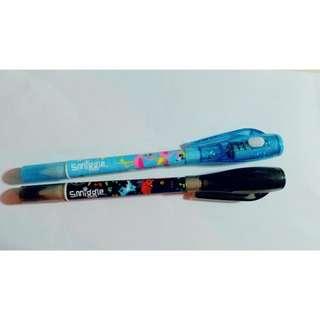 Smiggle lucky duo spy marker pen 隱形墨水筆 + 原子筆(雙頭)