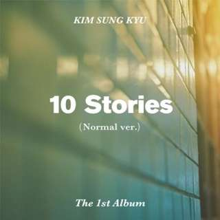 [ Kim Sung Kyu] 10 Stories (Normal Edition) Album