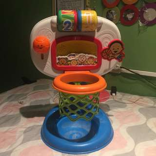 Fisher-price basketball ring w/ sounds