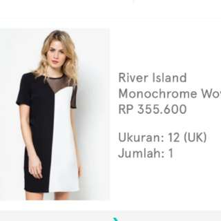 RAMADHAN SALE!  RIVER ISLAND (1 x  used only)