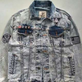 VINTAGE DENIM DESOLATION REBEL JACKET