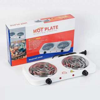 Double cooking hot plate