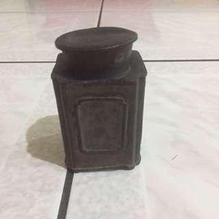 老件 錫罐