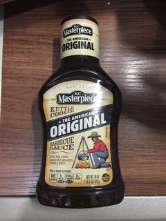 KC Masterpiece the American original barbecue sauce