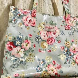 Cath kidston 同場賣300 foldable bag light green 100%real