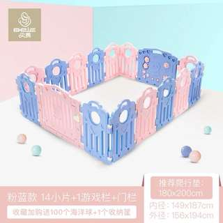Almost brand new Baby playard room