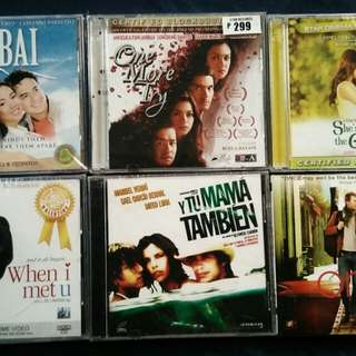 6 VCDs for P250