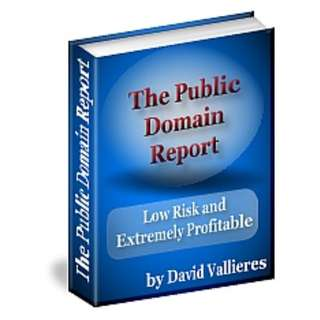 Public Domain Report (Package of 13 eBooks)