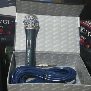 Microphones Vgl 10meters wire