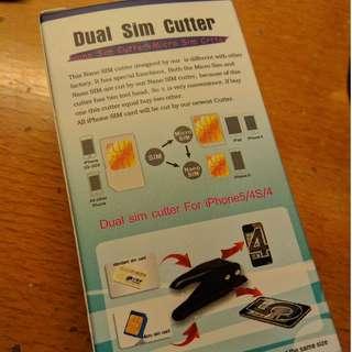 全新 Sim卡 剪卡器 cutter nano sim micro sim