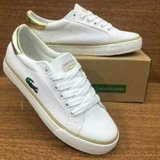 Lacoste Leather Couple Shoes