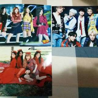 5R相 BTS/ Red Velvet/ Black Pink