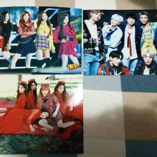 5R相 BTS/ Red Velvet/ Black Pink
