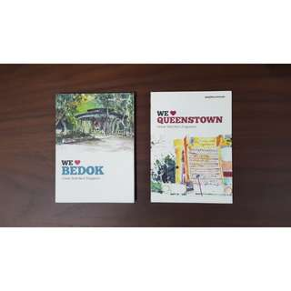 NeighbOurhoods books by urban sketchers