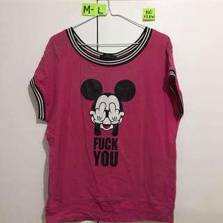 🌸Explicit Mickey - fits M-L