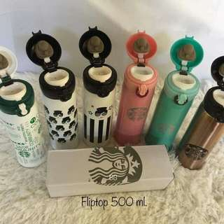Starbucks Fliptop Tumblers 500ml