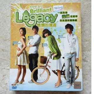 Korea Drama DVD : 灿烂的遗产  Brilliant Legacy